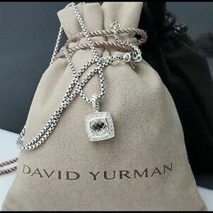 David Yurman White Topaz Petite Albion Necklace